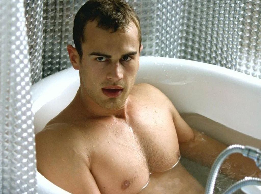 Theo James, Bedlam, Shirtless