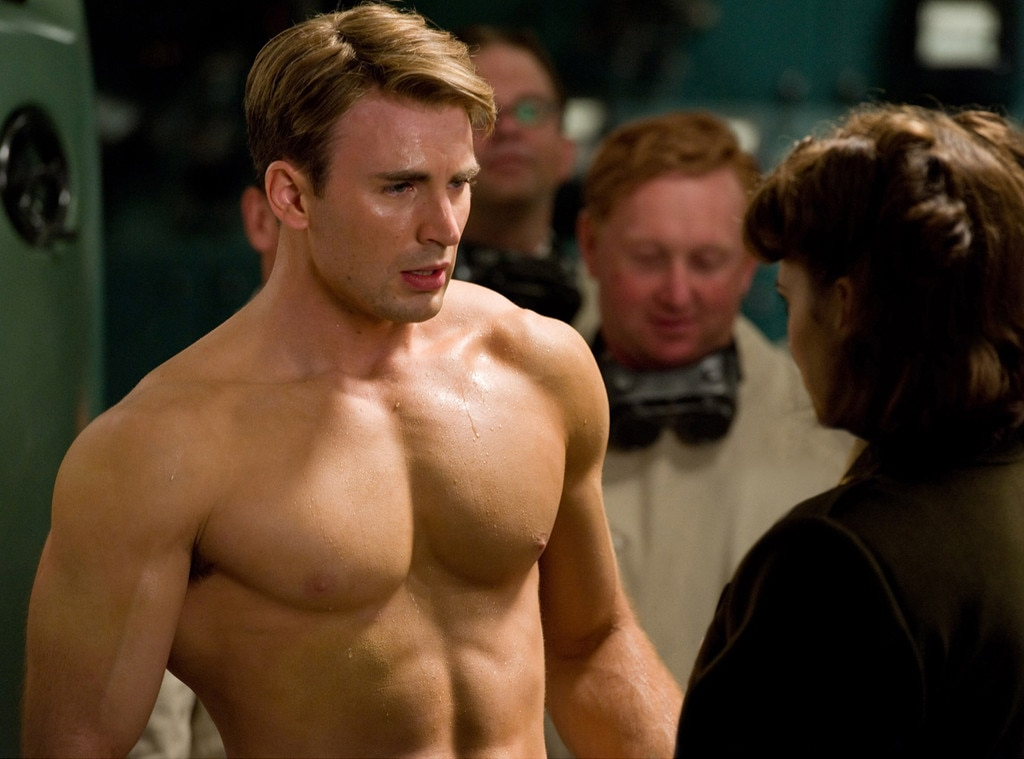 Captain America: The First Avenger, Chris Evans, Shirtless