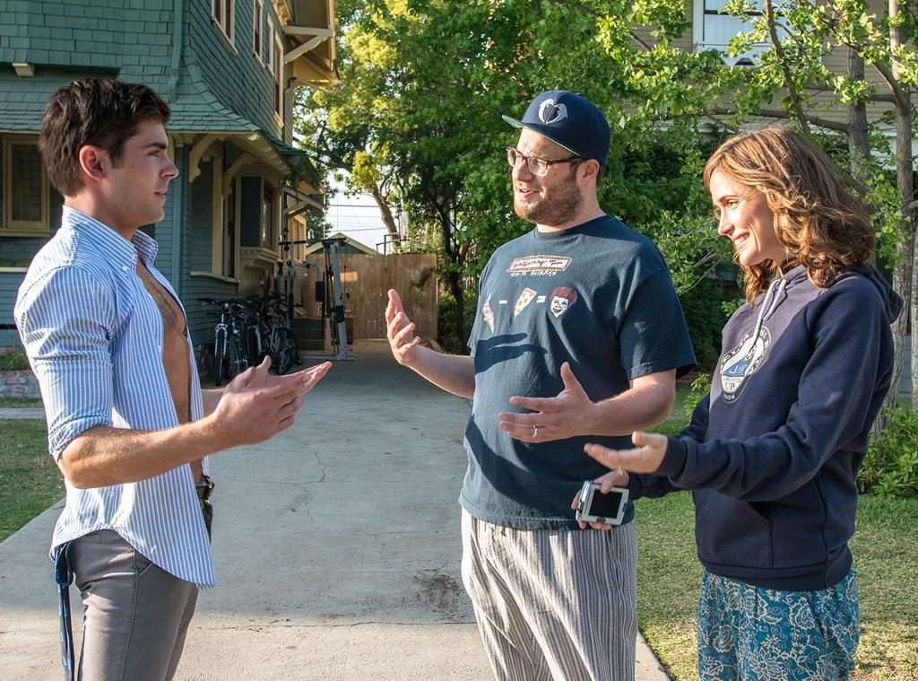 Zac Efron Seth Rogen And Rose Byrne Reuniting For
