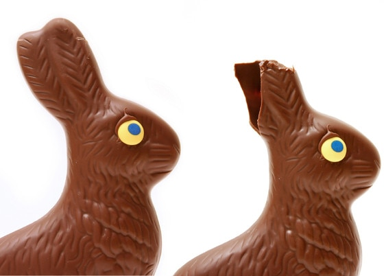 Easter Candy, Hollow Chocolate Bunny