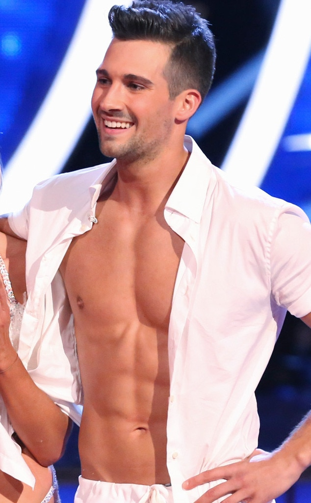 James Maslow, Dancing with the Stars, Shirtless