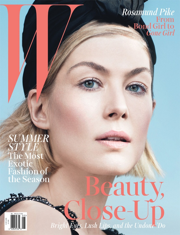 Rosamund Pike, W Magazine