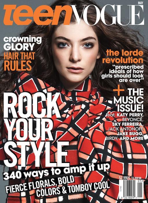 Lorde, Teen Vogue