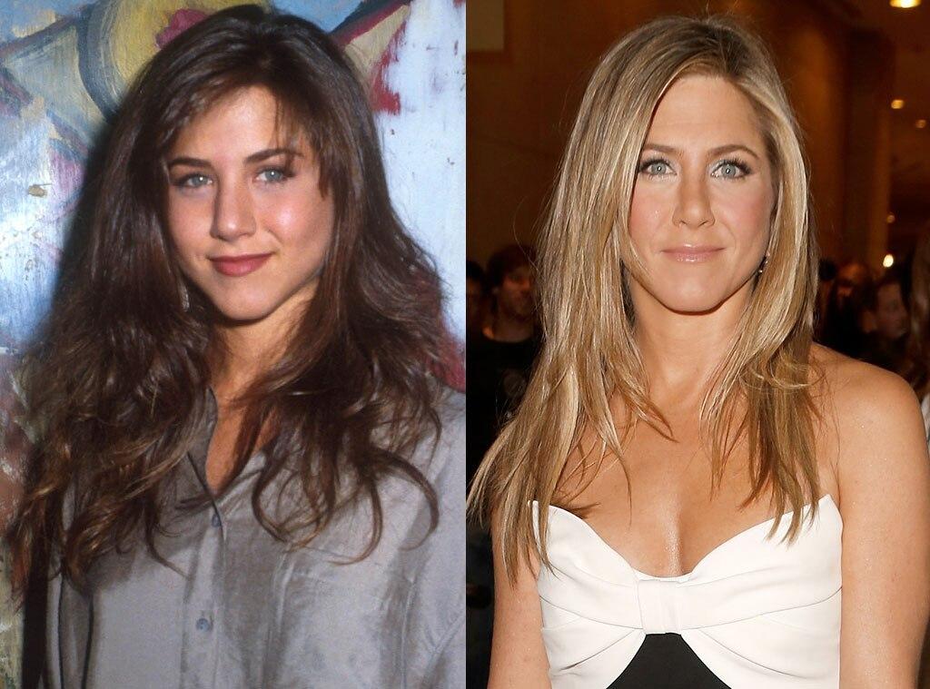 Jennifer Aniston From Celebs Then Amp Now E News