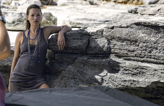 Kate Moss, David Yurman
