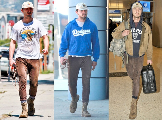 Shia LaBeouf, Brown Pants