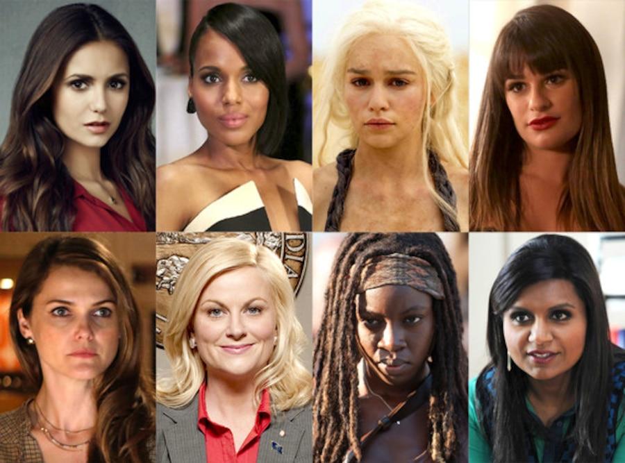 Girl on Top, Nina Dobrev, Kerry Washington, Emilia Clarke, Danai Gurira, Lea Michele, Amy Poehler, Keri Russell, Mindy Kaling