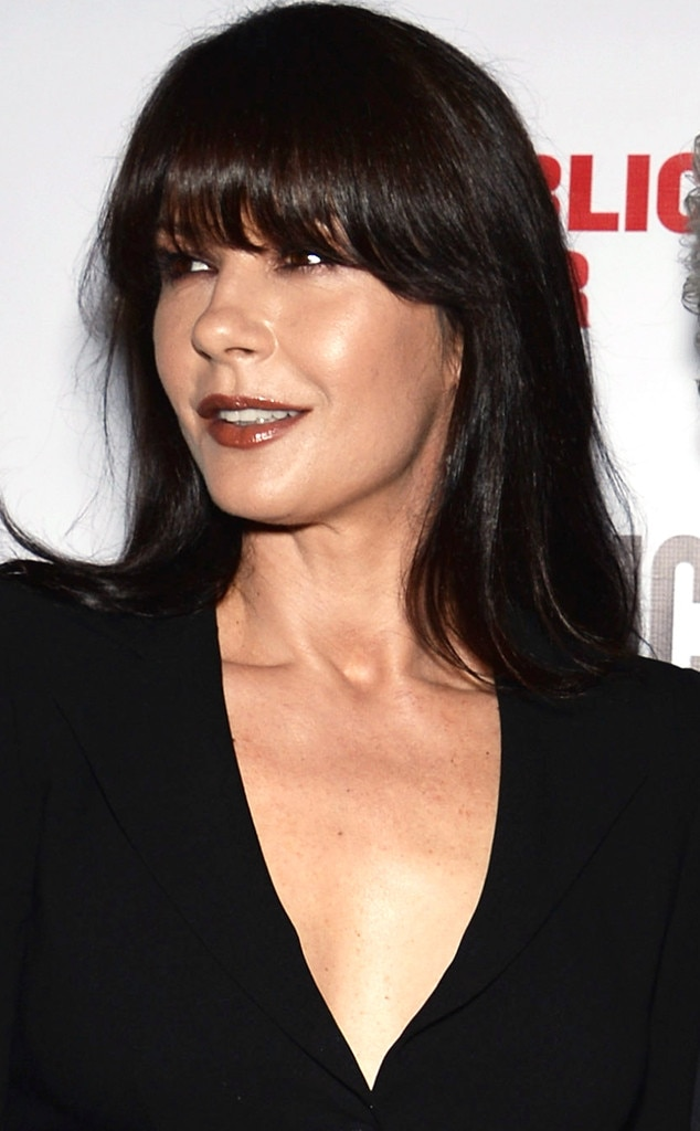 Catherine Zeta-Jones, Bangs