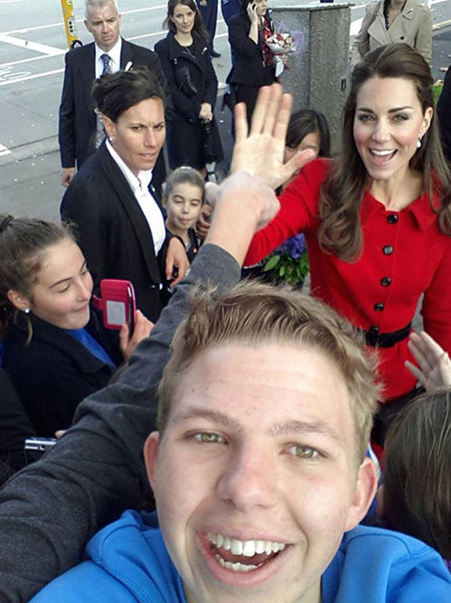 Royal Selfies, Prince William, Duchess Catherine, Kate Middleton