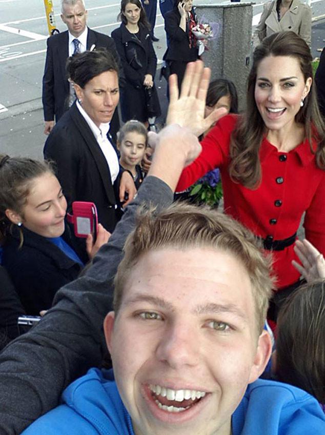 Royal Selfies, Prince William, Duchess Catherine, Kate Middleton