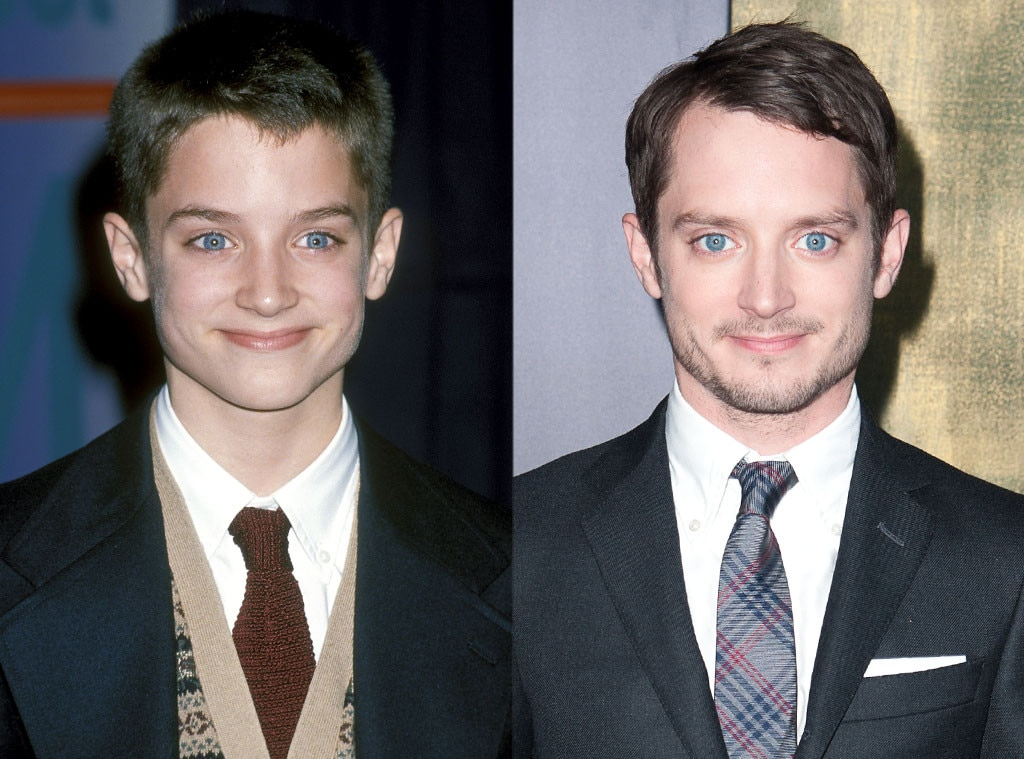 elijah wood from celebs then amp now e news