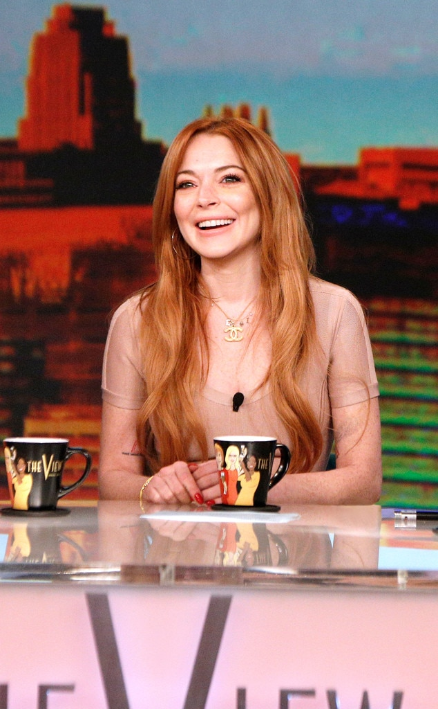 The View, Lindsay Lohan