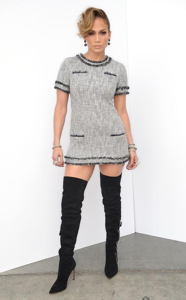Jennifer Lopez, American Idol Fashion
