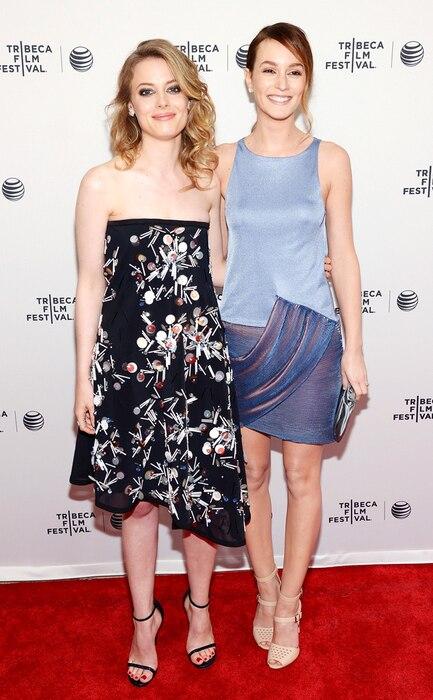 Gillian Jacobs, Leighton Meester, Tribeca Film Festival