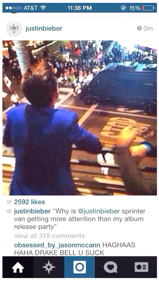Justin Bieber, Drake Bell