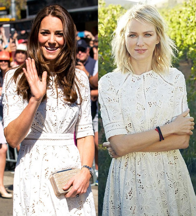 Kate Middleton, Naomi Watts