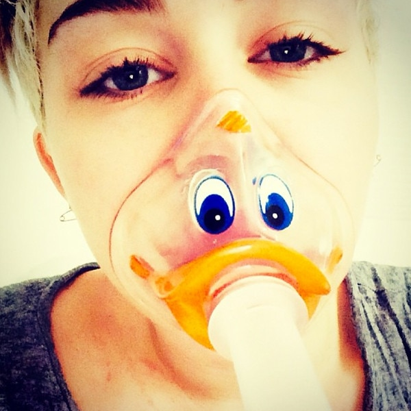 Miley Cyrus, Instagram