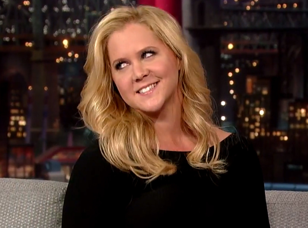Amy Schumer, David Letterman