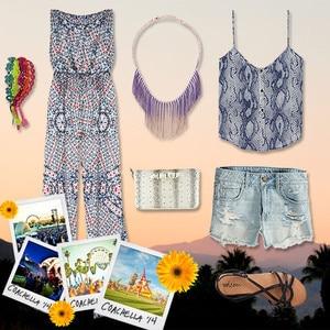 Coachella Fashion Collage