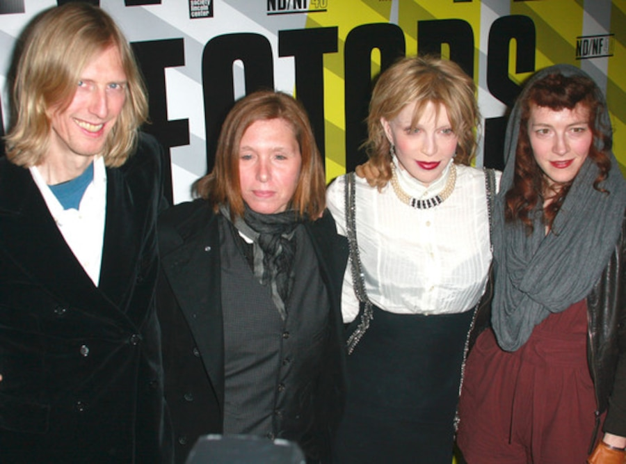Eric Erlandson, Patty Schemel, Courtney Love, Melissa auf der Maur, Hole
