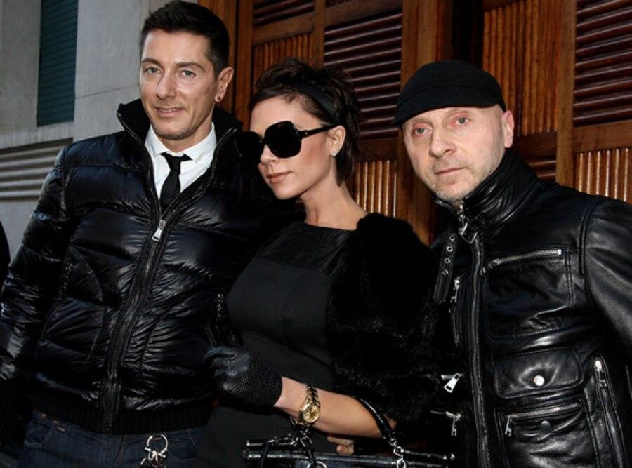 Stefano Gabbana, Victoria Beckham, Domenico Dolce