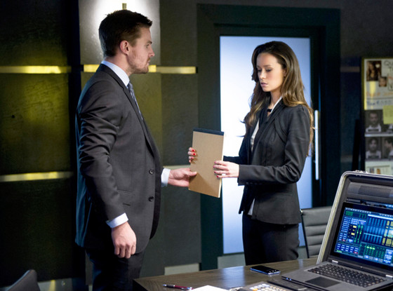 Arrow, Stephen Amell, Summer Glau