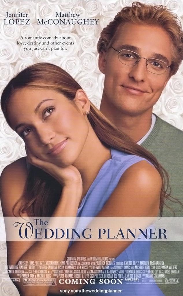 The Wedding Planner, Jennifer Lopez, Matthew McConaughey