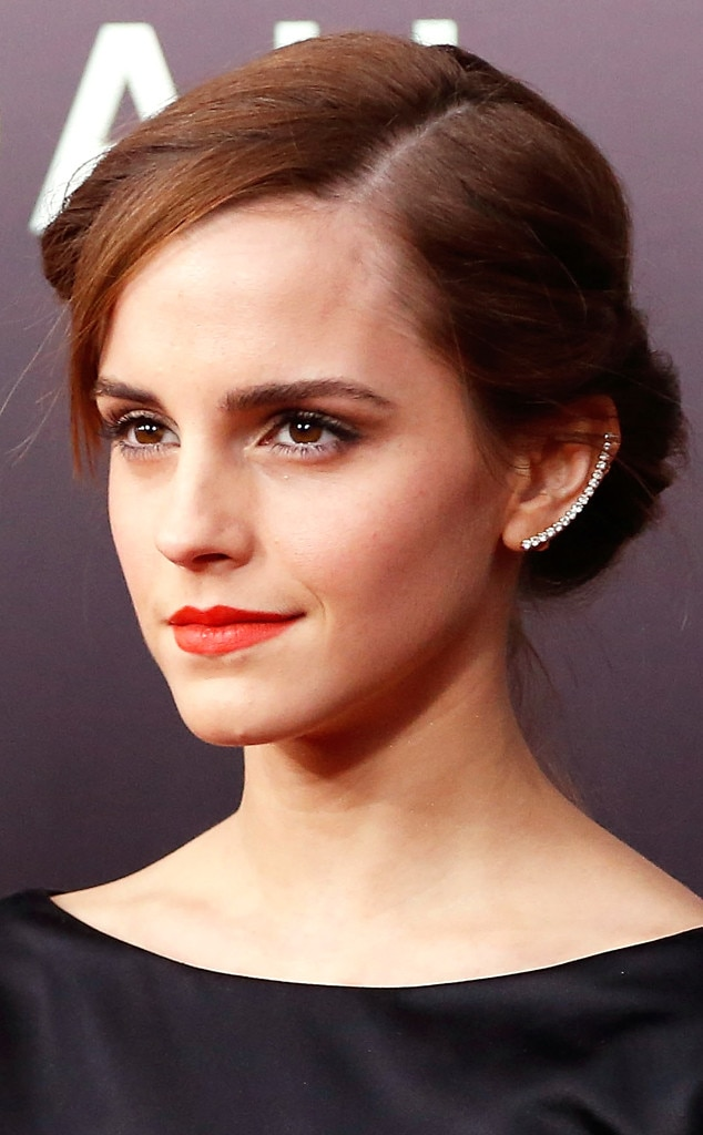 Emma Watson from Celebs Who Have Rocked the Ear Cuff Trend ...