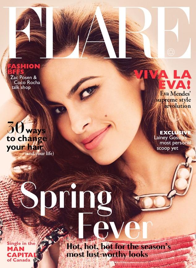 Eva Mendes, Flare Magazine