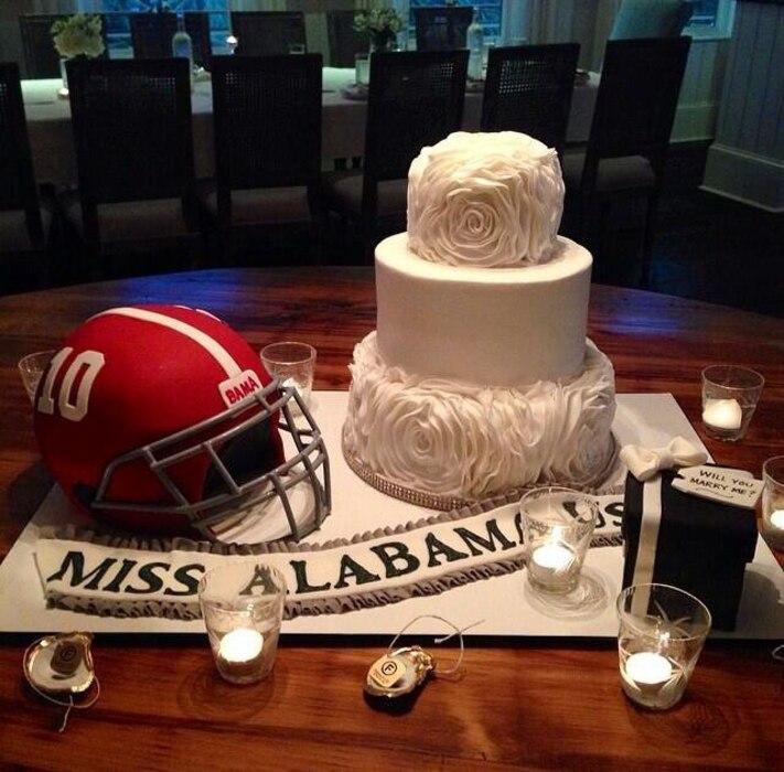 Katherine Webb, AJ McCarron, Cake, Twit Pic