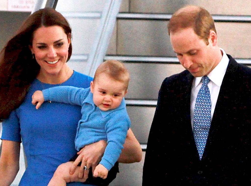 Duchess of Cambridge, Kate Middleton, Prince William, Prince George