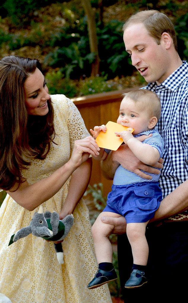 Kate Middleton, Duchess of Cambridge, Prince William, Prince George