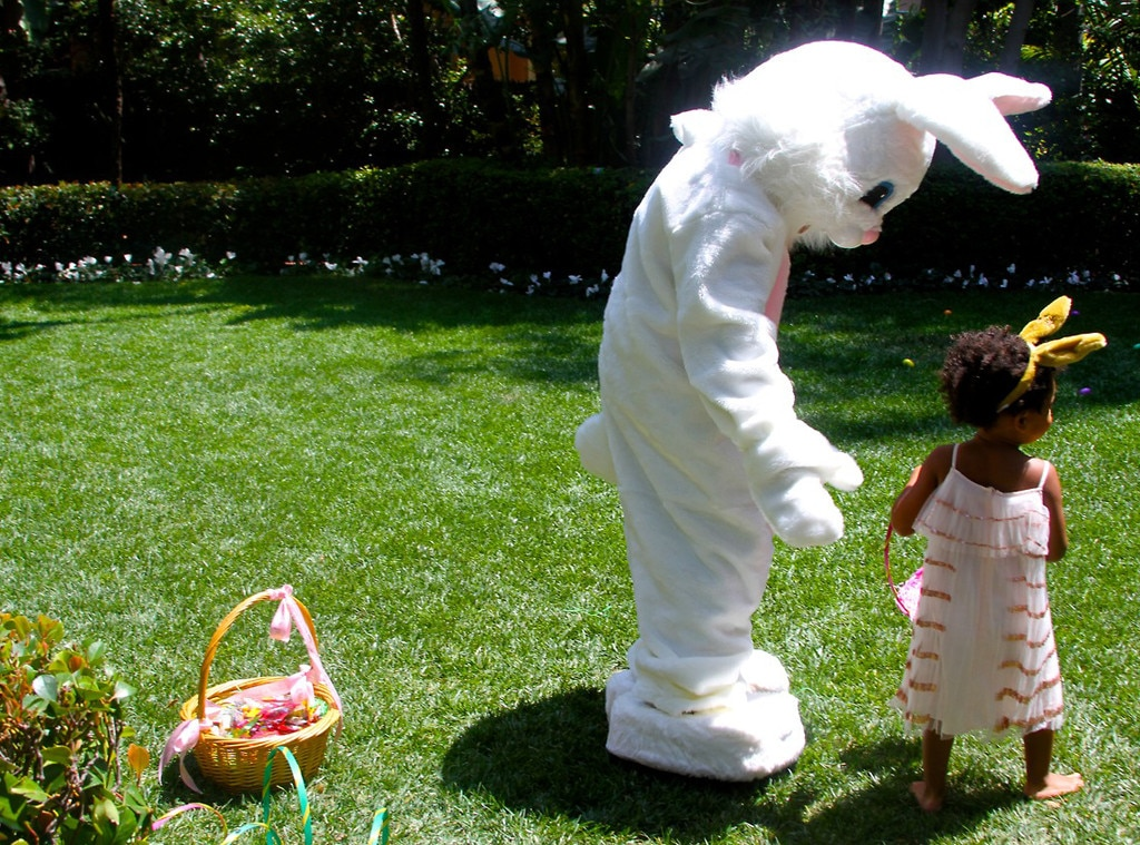 Beyonce, Jay-Z, Blue Ivy, Easter