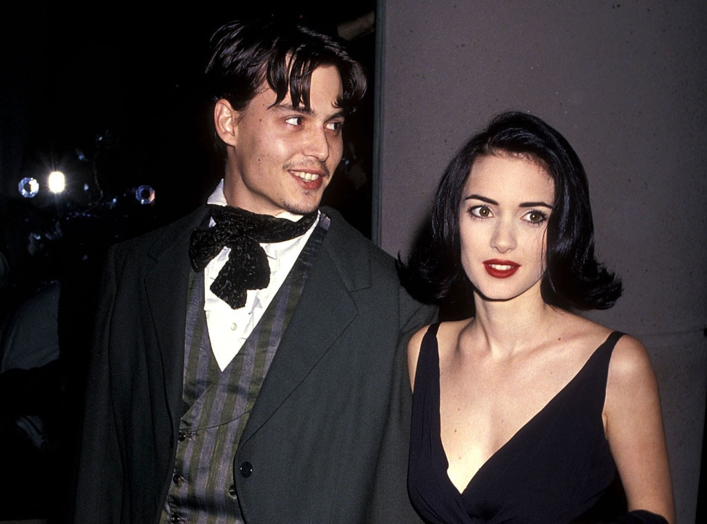Johnny Depp Winona Ryder