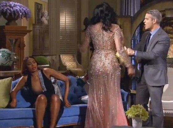 Cynthia Bailey, Real Housewives of Atlanta, Wardrobe Malfunction