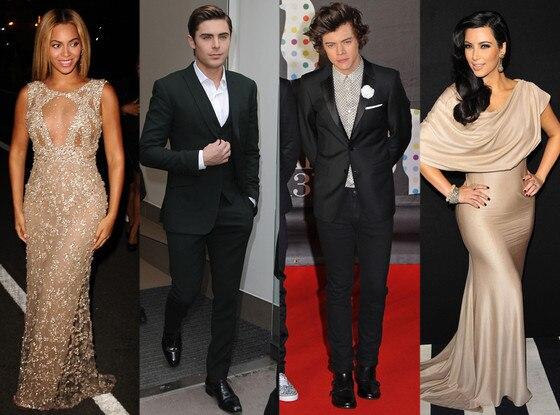 Celebrity Prom, Kim Kardashian, Zac Efron, Beyoncé, Harry Styles