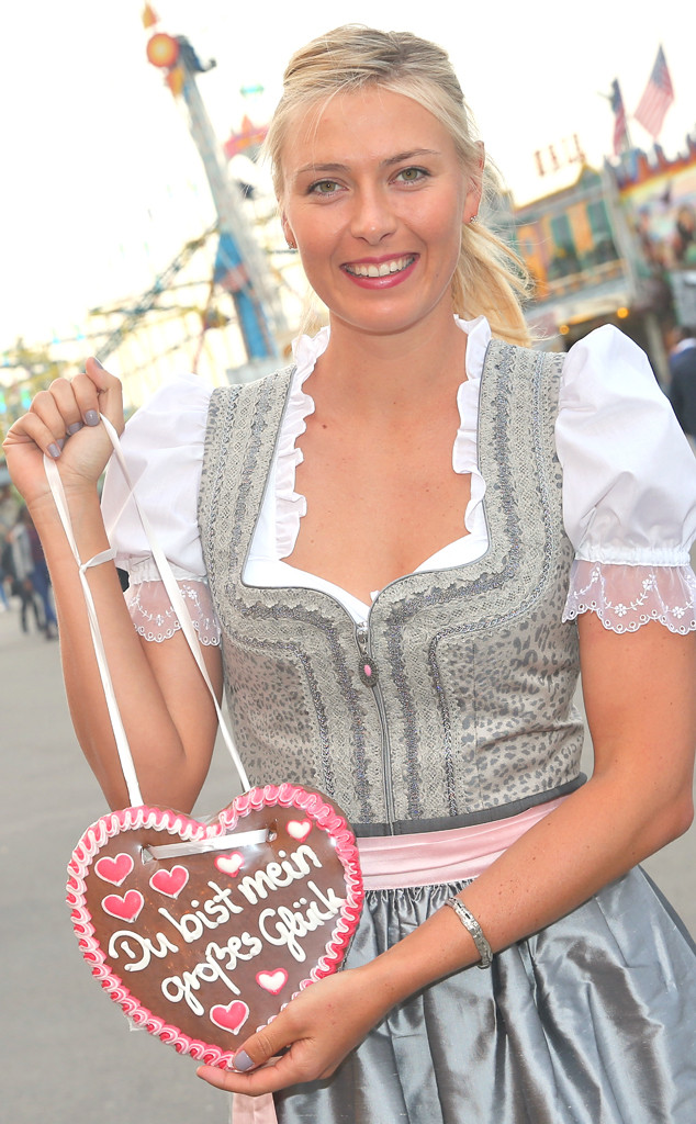 Porsche Of Silver Spring >> Maria Sharapova Celebrates 27th Birthday at German