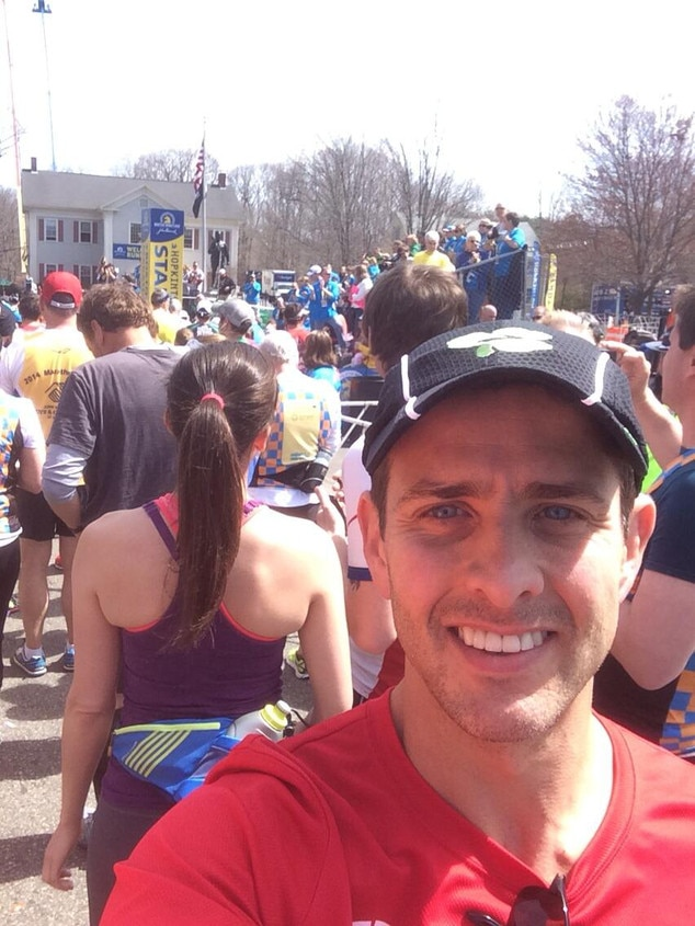 Joey McIntyre, Boston Marathon