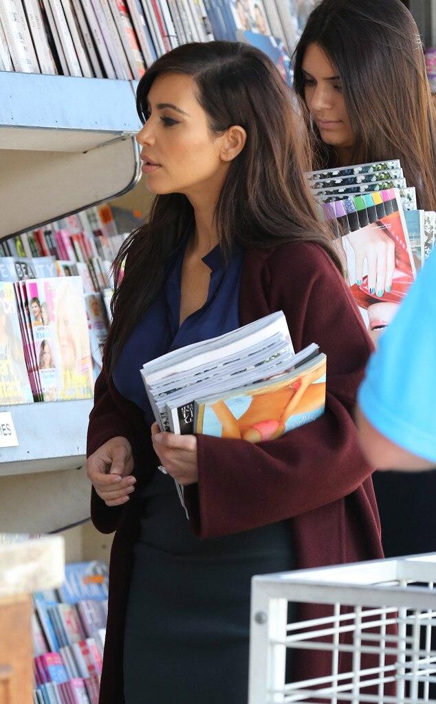 Kim Kardashian, Kendall Kardashian, Vogue