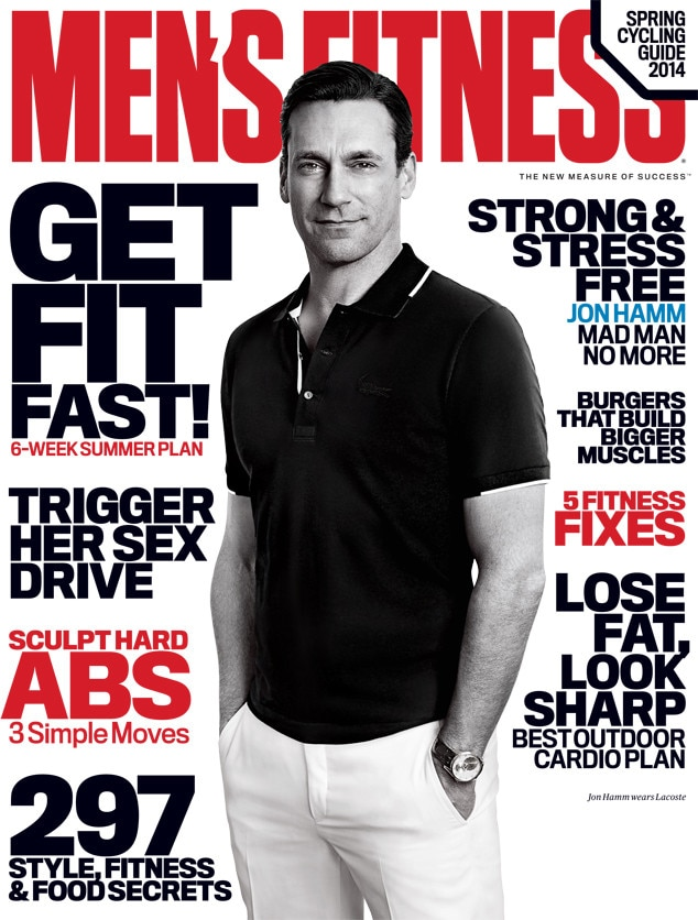 Jon Hamm, Men's Fitness