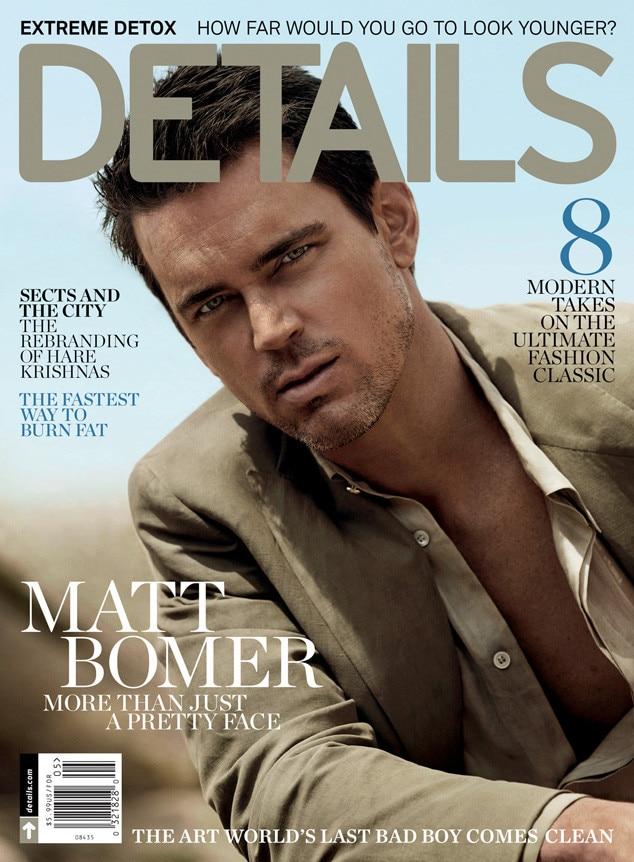 Matt Bomer, Details Magazine