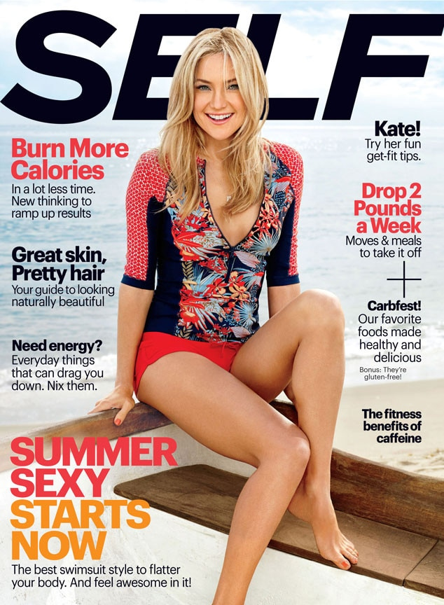 Kate Hudson, Self Magazine