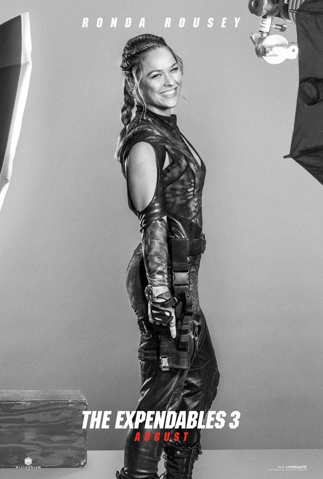 Ronda Rousey, Expendables 3, Poster