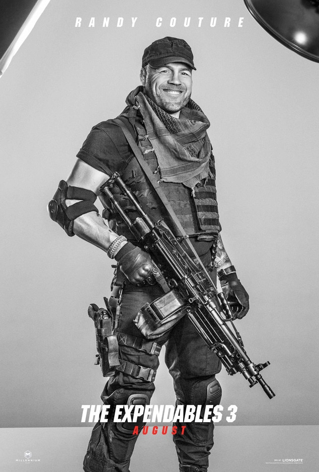 Randy Couture, Expendables 3, Poster