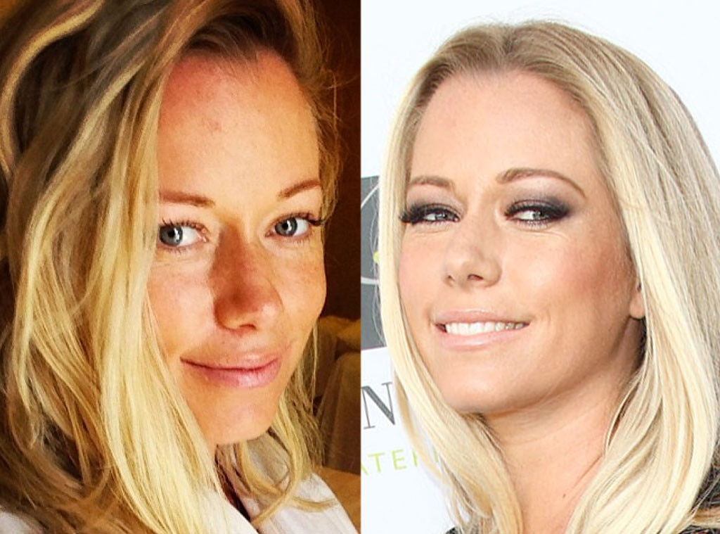Kendra Wilkinson-Baskett, No Makeup