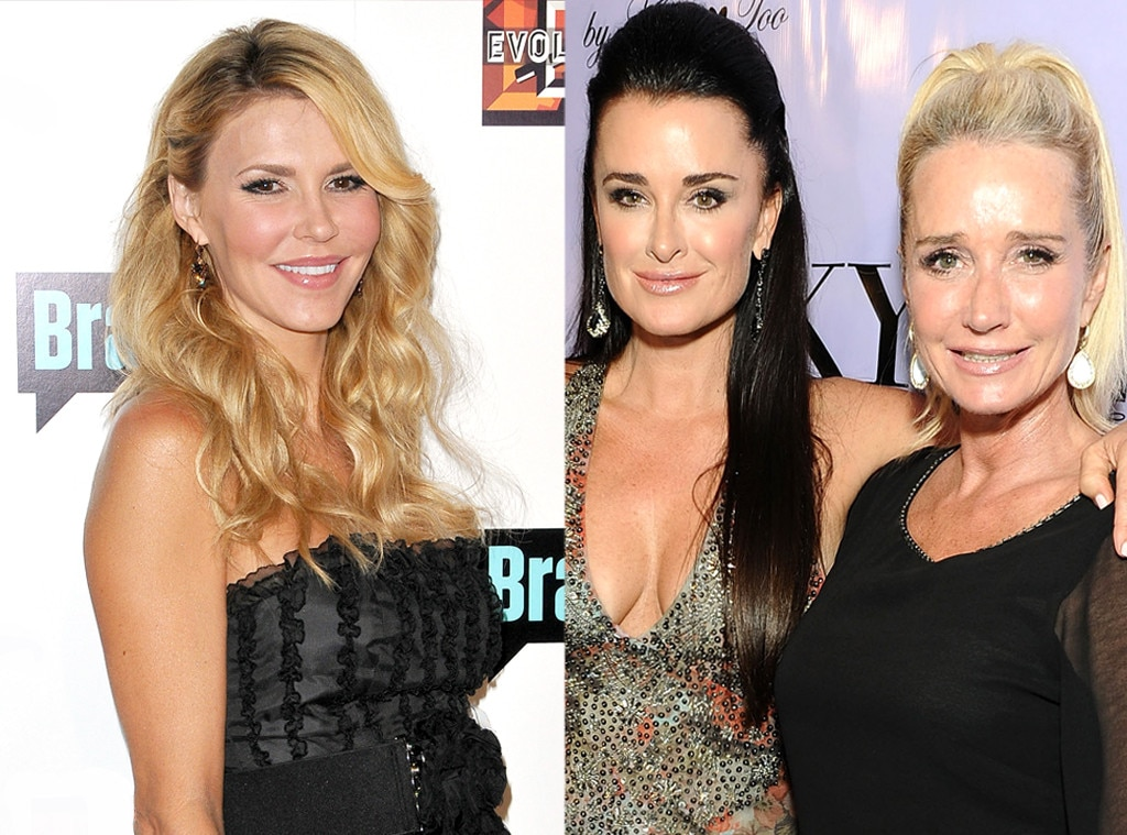 Brandi Glanville, Kim Richards, Kyle Richards, Real Housewives Fights