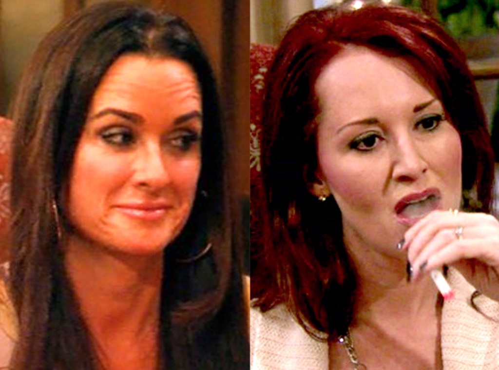 Kim Richards, Alison DuBois, Real Housewives Fights