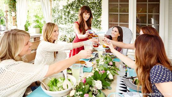 Lea Michele, Domaine Home