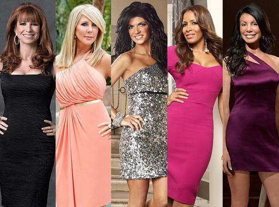 Teresa Giudice, Jill Zarin, Danielle Staub, Sheree Whitfield, Vicki Gunvalson, Real Housewives Fights