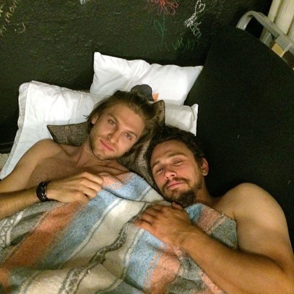 Keegan Allen, James Franco